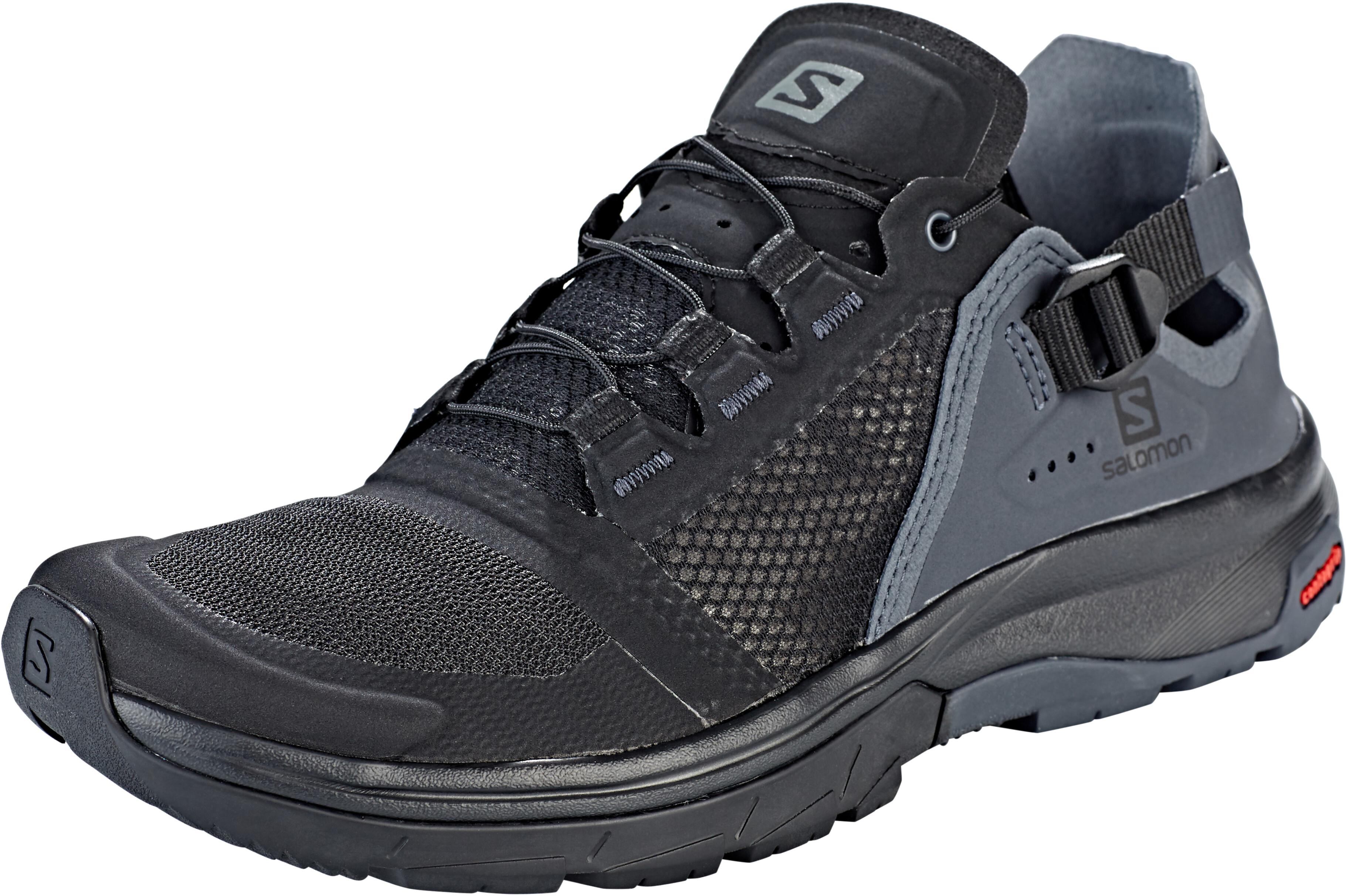 e3ad46c6b Salomon Techamphibian 4 - Calzado Mujer - gris negro